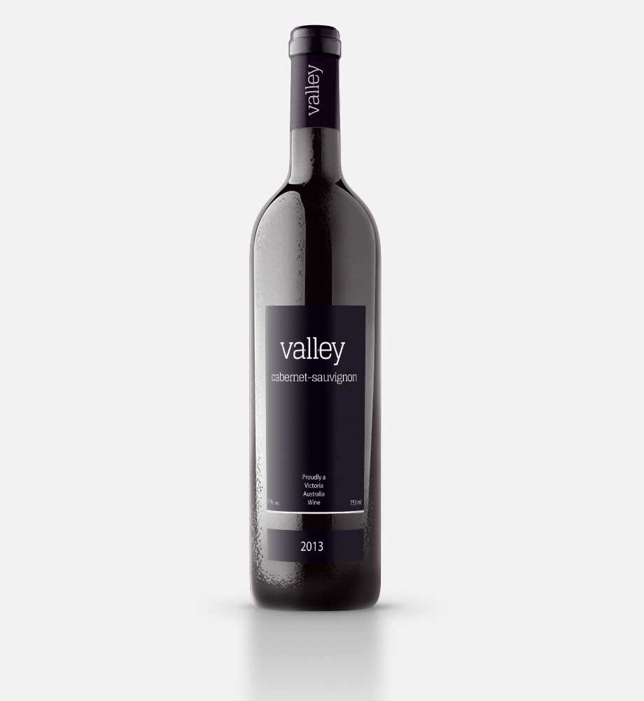 Valley Wine Logo Design