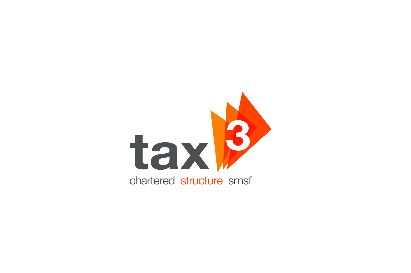 Tax 3 Logo Design