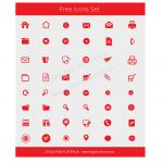 48 Free Red Vector Icons!