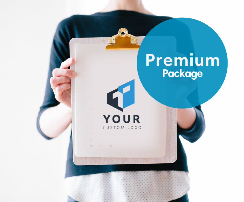 Premium package logo design